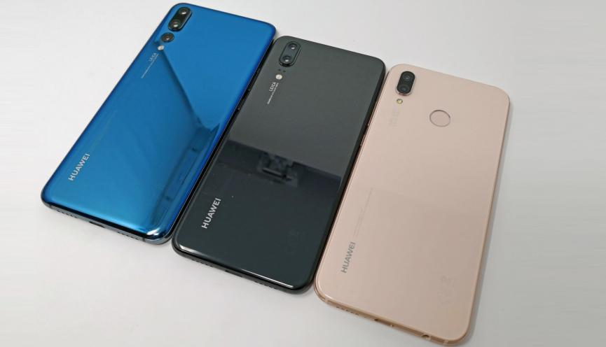 Serie Huawei P20 no llegará a EE.UU. pero si al resto de América del Norte