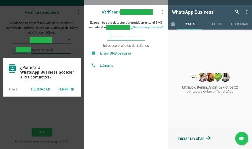 Instalar WhatsApp Business en Android