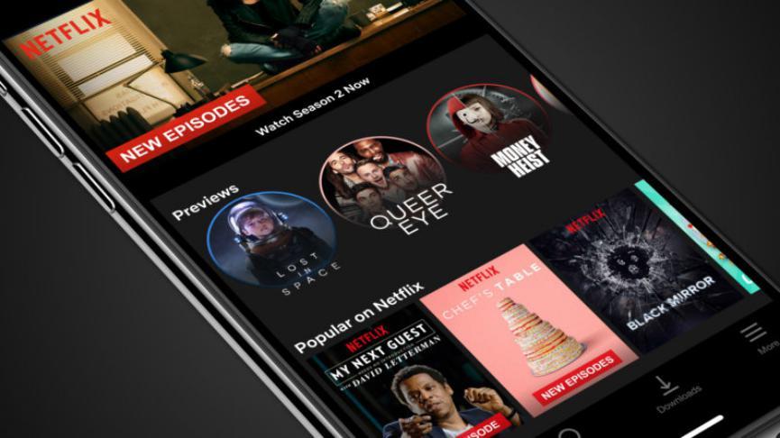 NetFlix Android tiene vista previa al igual que YouTube en la Web