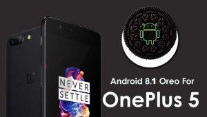 OnePlus 5 Oreo Android 8.1
