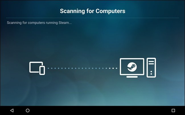 configurar Steam Link en Android