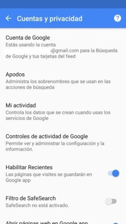 copias de seguridad en Android