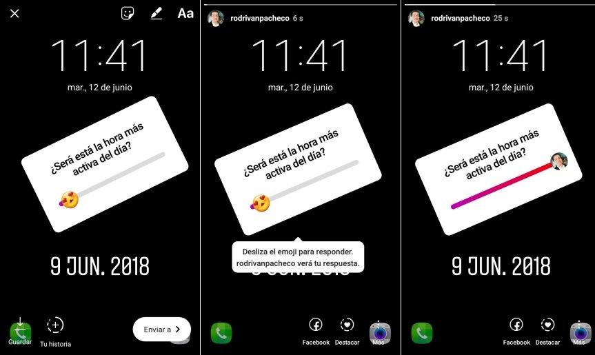 nuevo emoji Instagram Android para Historias