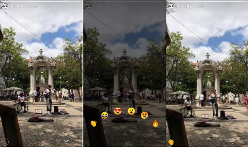 Instagram Android con Reacciones