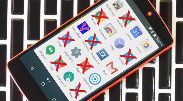 Con 2 alternativas diferentes, fácilmente podríamos eliminar Aplicaciones Android que vienen instaladas de fábrica y que son conocidas como bloatware.