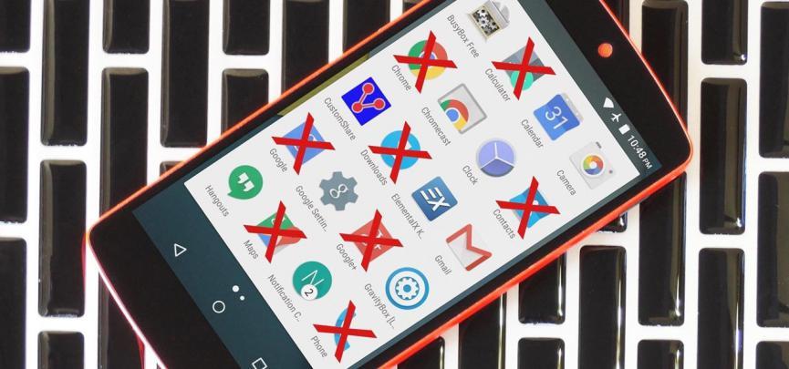 Cómo Eliminar Aplicaciones Android Instaladas de Fábrica (BloatWare)
