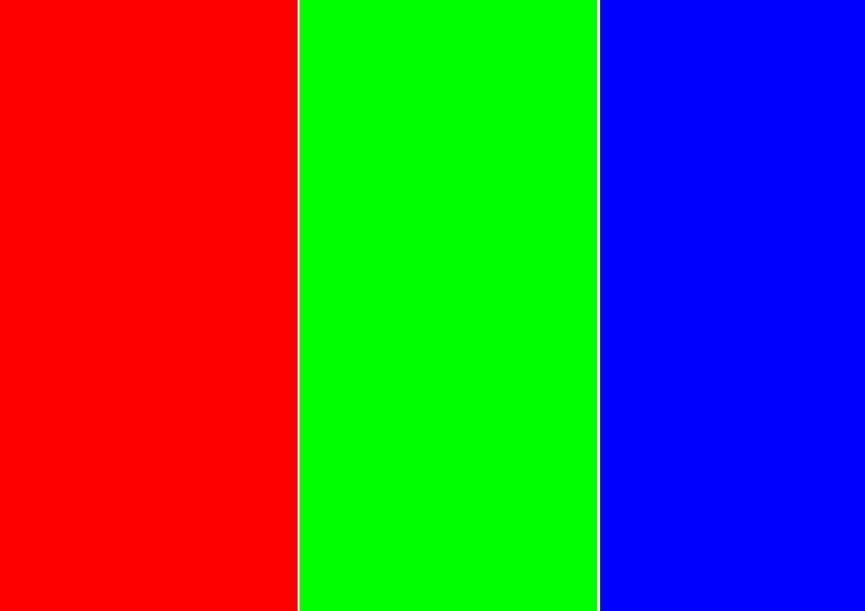 probar colores de pantalla en Samsung Galaxy