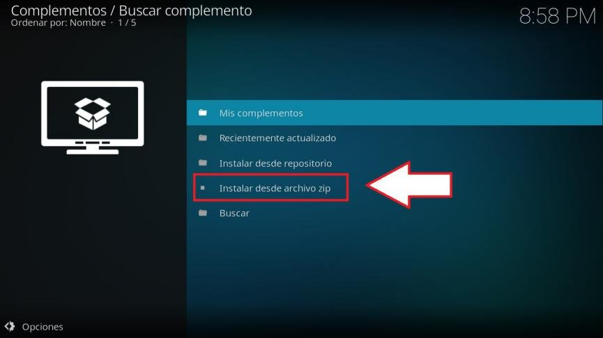 Eliminar Caché Kodi Android
