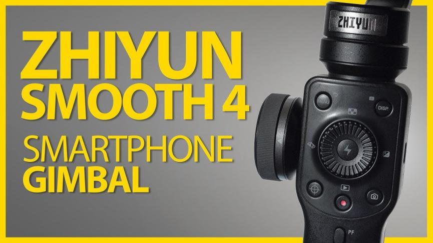 Zhiyun Smooth estabilizador de videos