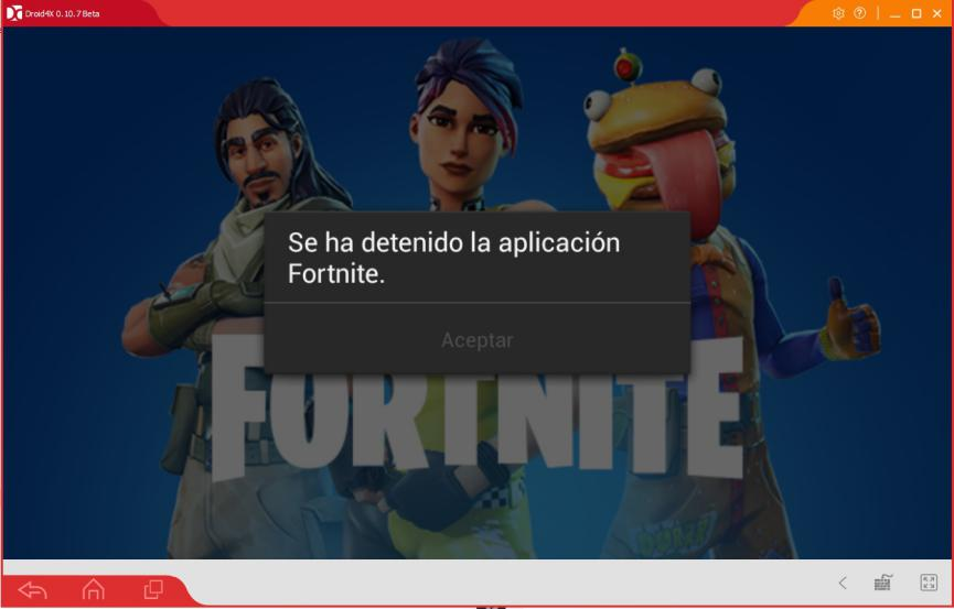 Fortnite Android requisitos emulador android