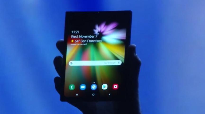 Samsung Infinity Flex tendrá una Producción de 1 millón de Unidades