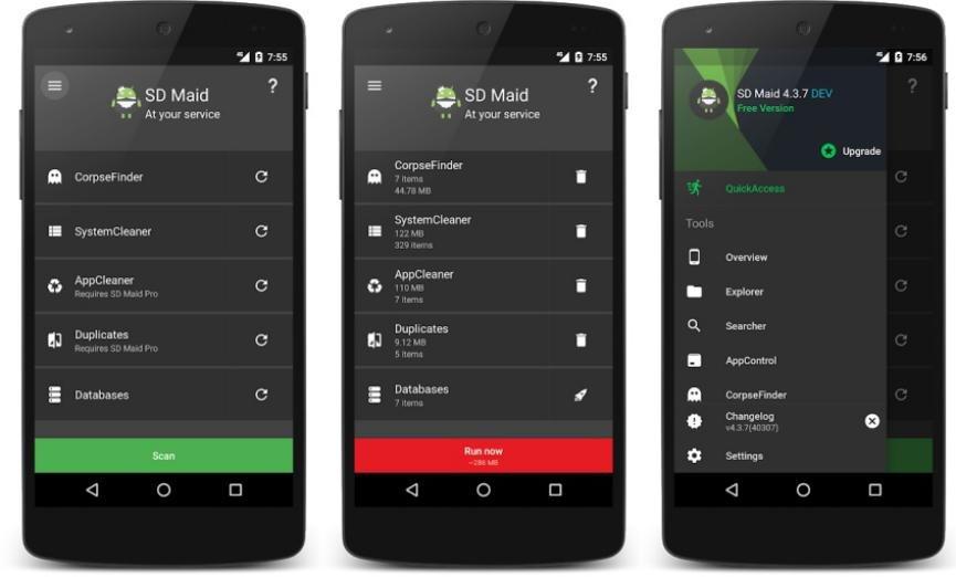 SD Maid borrar basura Android
