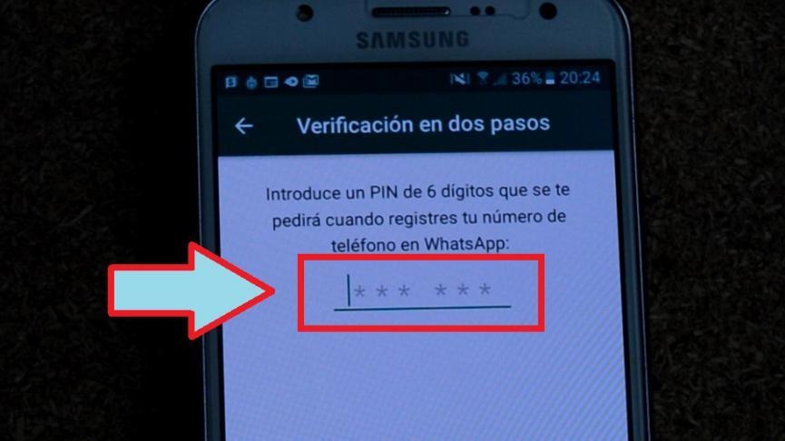 doble verificacion WhatsApp Android