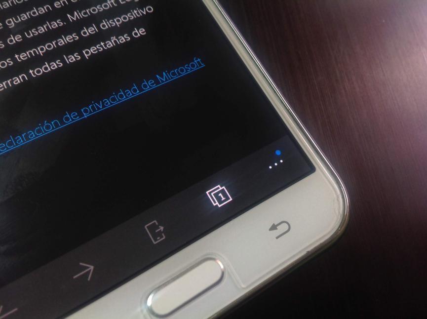 Bloquear noticias Falsas con Microsoft Edge en Android