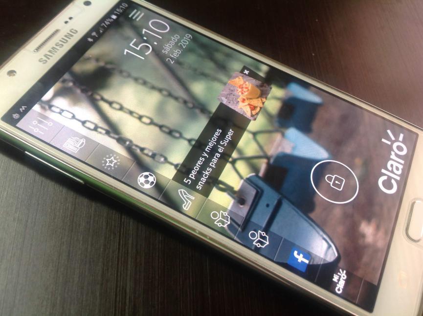 Samsung Start en Galaxy J7