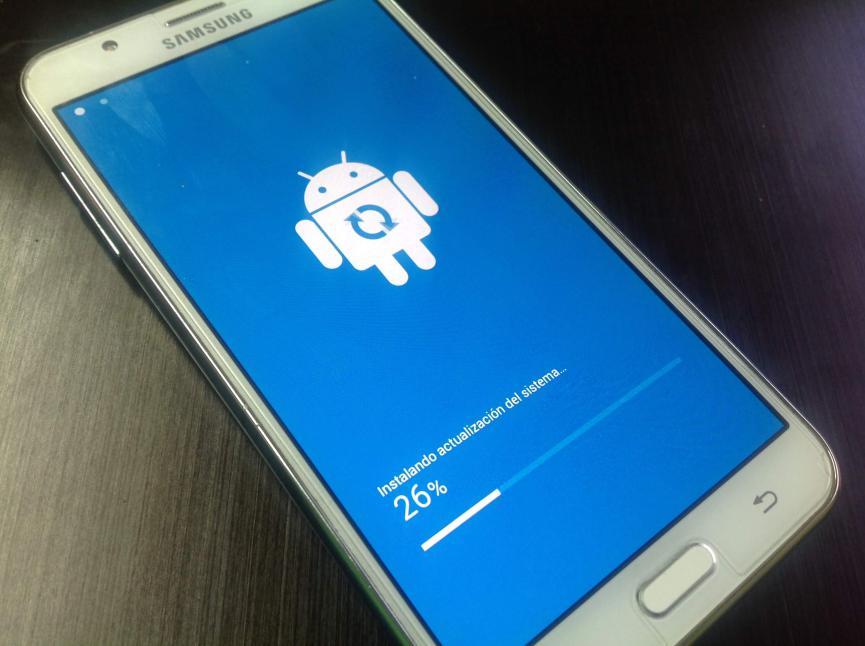 Samsung Galaxy J7 actualizaciones