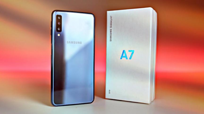 El Samsung Galaxy A7 (2018) Recibe Pie Android 9.0 pero…