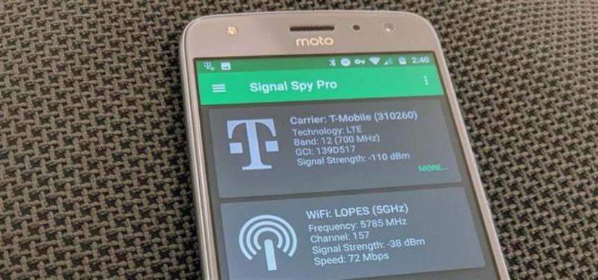Signal Spy te Muestra la Intensidad de Conectividad en Android