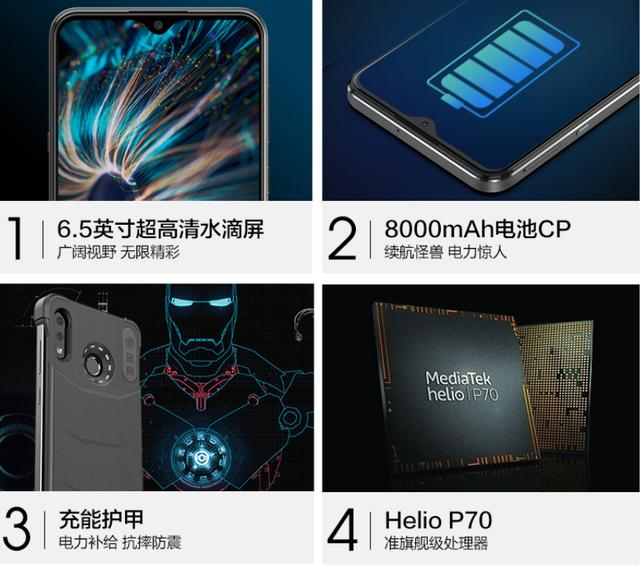 🥇 ▷ Hisense King Kong 8000: An Android Cell Phone with