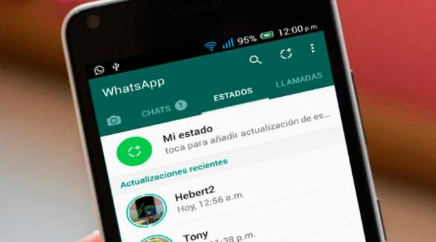 quitar Estados de WhatsApp en Android