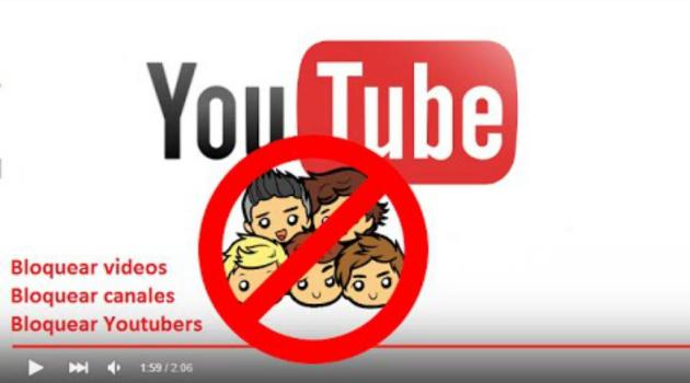 bloquear contenido en YouTube