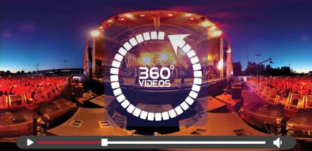 360 VR Player Videos