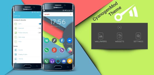 Galaxy S7 CM13 Theme premium