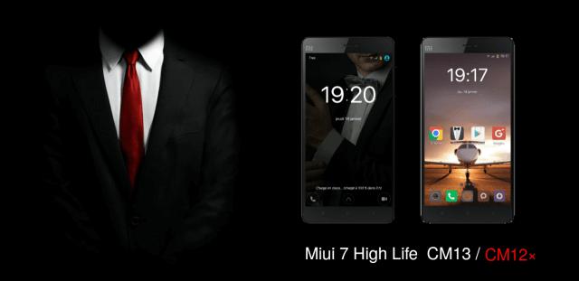 Miui 7 High Life Premium CM13