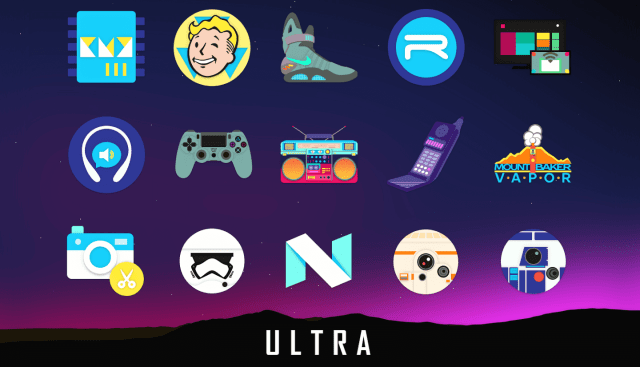 Ultra icon pack