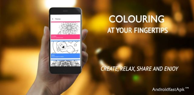 ColourGo - Colouring book