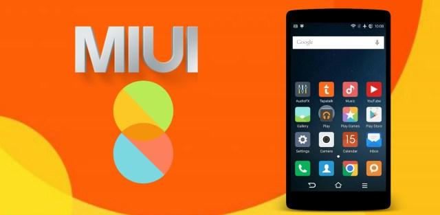 MIUI 8 icon pack