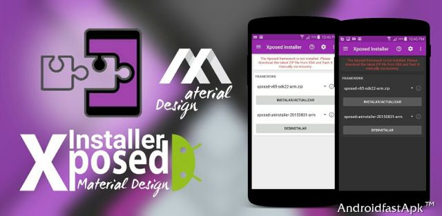 Xposed Intaller Material