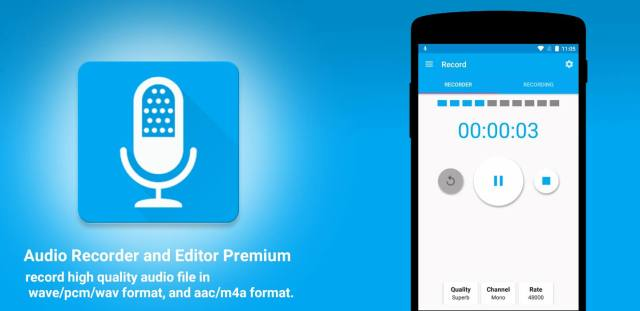 Audio Recorder and Editor Premium