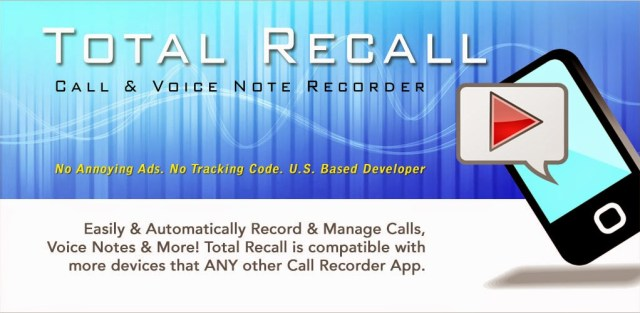 Call Recorder Total Recall FULL