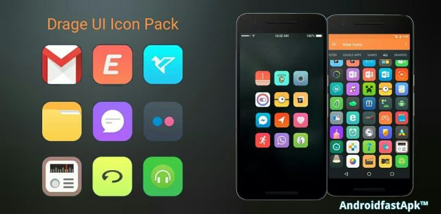 Drage UI Icon Pack