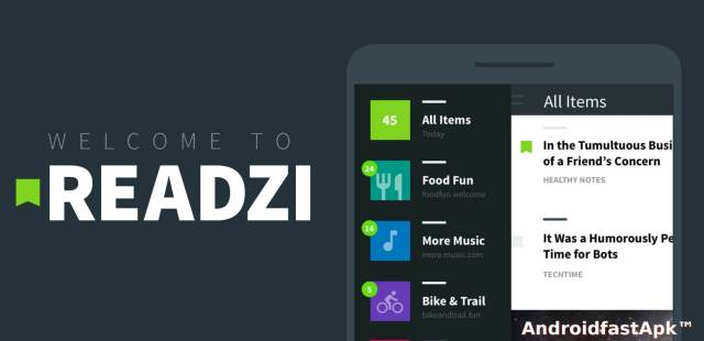 Readzi A Feedly RSS Reader
