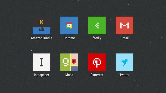 minimal pixel icon pack