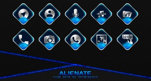 Alienate Icon Pack