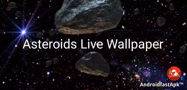Asteroids Live Wallpaper