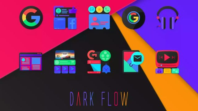 DarkFlow - Icon Pack