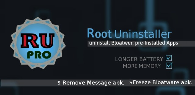 Root Uninstaller pro