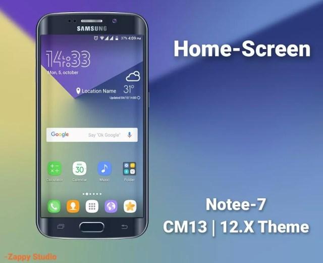 Galaxy 7 Style Theme CM12