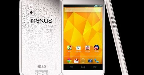 The newest handset by Nexus-White Nexus 4