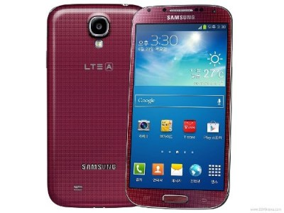 Samsung Galaxy S4 LTE-A Red Aurora