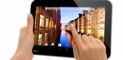 Toshiba announced three new JB powered tablets