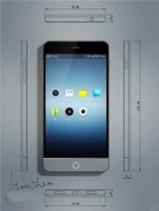 Meizu MX3 front
