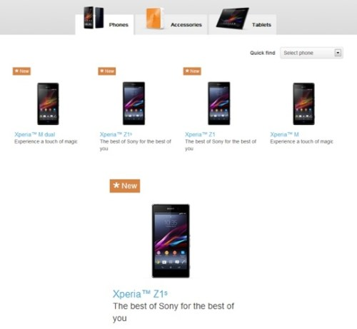 Sony Xperia Z1S Release Date Rumored