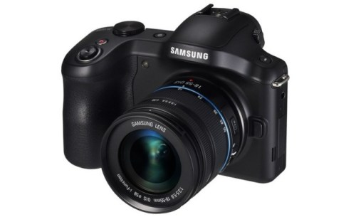 Samsung NX Camera Mini with Android-based system