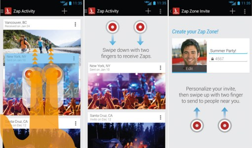 Droid Zap Comes with Zap Zone and Other Functionalities