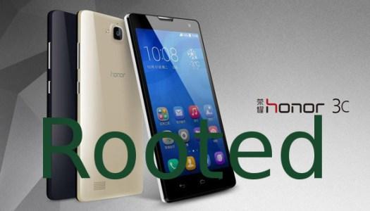 Root Huawei Honor 3C
